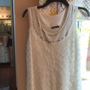 Carole Little Dresses - Kind of a fancy white dress